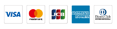 ご使用可能なクレジットカード会社ロゴ一覧