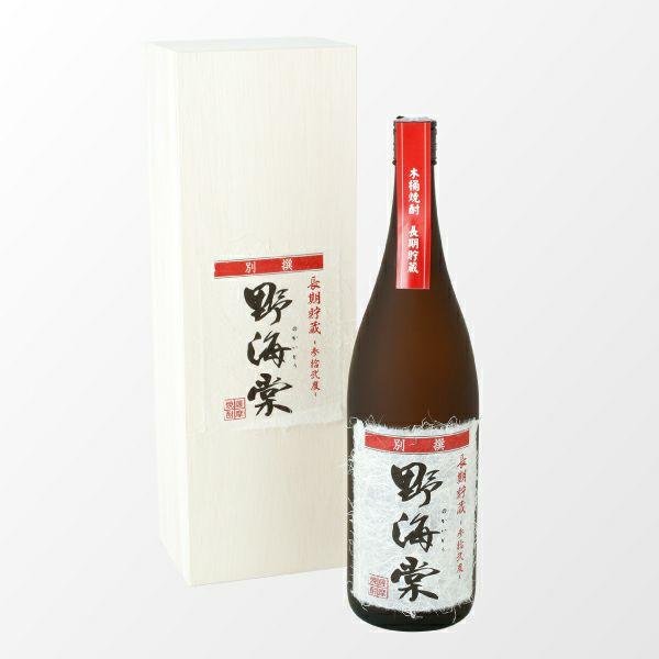 長期貯蔵 参拾弐度 別撰・野海棠 1800ml